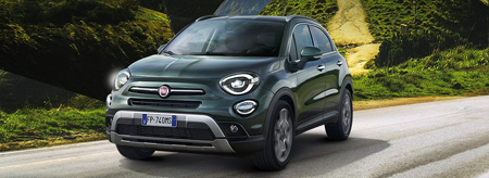 Fiat 500X look cross face